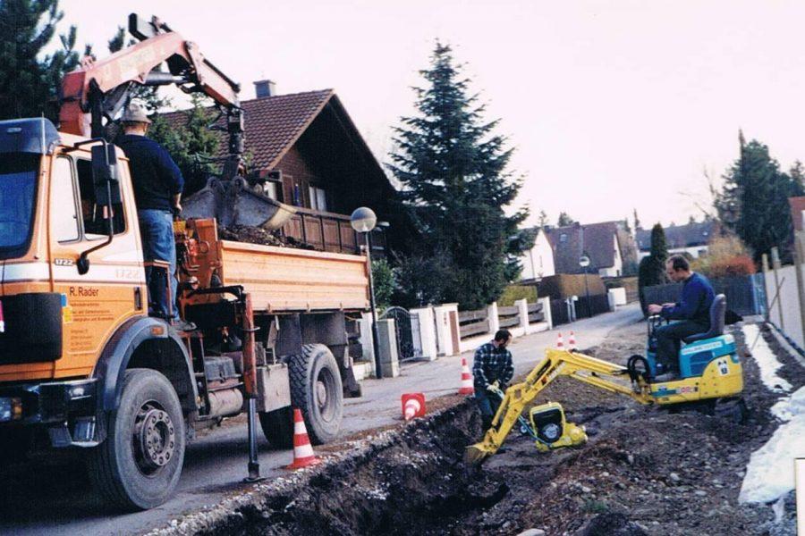 2004 Parkplatzerweiterung